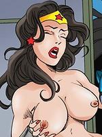 Justice League gangbang