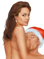 Santa's famous sluts