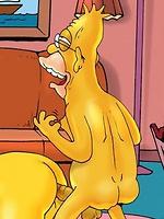 Homer Simpson's boyfriends