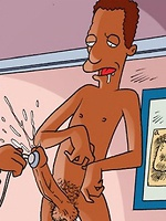 Gay Simpsons on smut